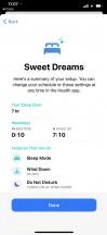 Health app - Sleep mode - Apple iOS 14 Review