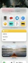 All available widgets at launch - Apple iOS 14 Review