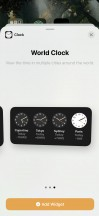 Different widgets sizes - Apple iOS 14 Review