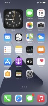 Homescreen - Apple iPhone 12 Pro Max review