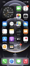 Homescreen - Apple iPhone 12 Pro review