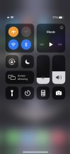 Control Center - Apple iPhone 12 Pro review