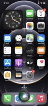 The new Siri UI - Apple iPhone 12 Pro review