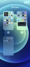 Hide homescreens - Apple iPhone 12 review
