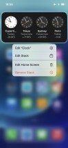 Stacked Widgets - Apple iPhone 12 review