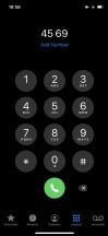 Dark Mode - Apple iPhone 12 review