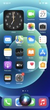 The new Siri UI - Apple iPhone 12 review