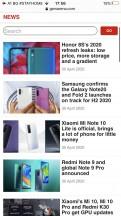 Safari - Apple iPhone SE 2020 review