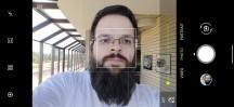 Selfie camera UI - ROG Phone 3 review