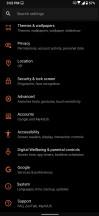 Advanced settings menu - ROG Phone 3 review