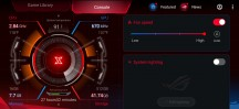 AeroActive Cooler 3 speed controls - ROG Phone 3 review