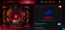System Lighting settings - ROG Phone 3 review