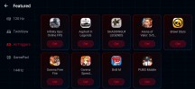 Featured games lists - ROG Phone 3 review