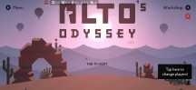 Alto's Odyssey v1.01 has an uncapped frame rate - ROG Phone 3 review