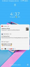 Lockscreen - Asus Zenfone 7 Pro review