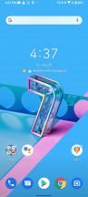 Homescreen - Asus Zenfone 7 Pro review