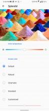 Display settings - Asus Zenfone 7 Pro review