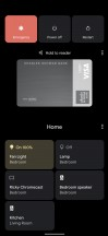 Device Control Menu - Google Pixel 5 review