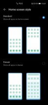 App drawer settings and Honor's own take on Edge Panel - Honor 30 Pro+ review