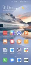 Homescreen - Huawei Mate 40 Pro review