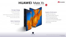 Huawei Mate Xs in official press material - Huawei Mate Xs review