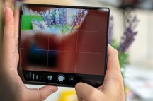 There is really only one right way to hold it - Huawei Mate Xs review