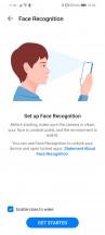 Face unlock - Huawei P smart 2021 review
