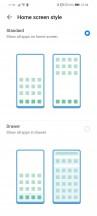 Homescreen style - Huawei P smart 2021 review