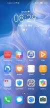 Homescreen - Huawei P40 Lite review