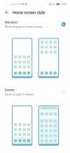 Homescreen style - Huawei P40 Lite review