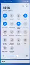 Notification shade - Huawei P40 Lite review
