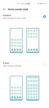 Homescreen style - Huawei P40 Pro review
