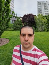 Selfie samples - f/2.2, ISO 50, 1/188s - Huawei P40 Pro Long-term review