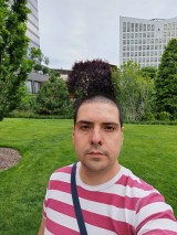 Selfie samples - f/2.2, ISO 50, 1/179s - Huawei P40 Pro Long-term review
