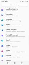Settings - Infinix S5 Pro review