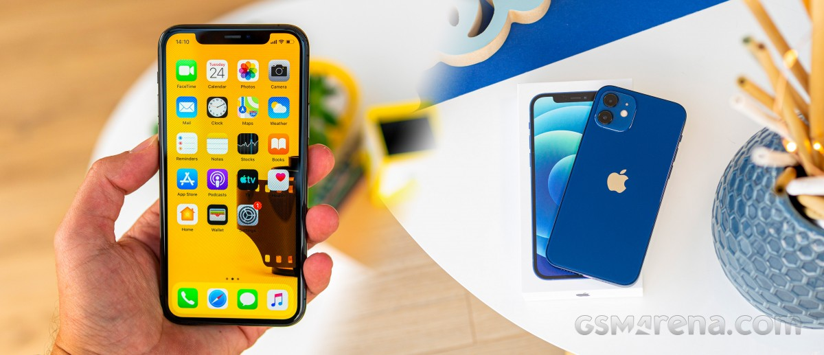 iPhone 11 Pro to iPhone 12 mini