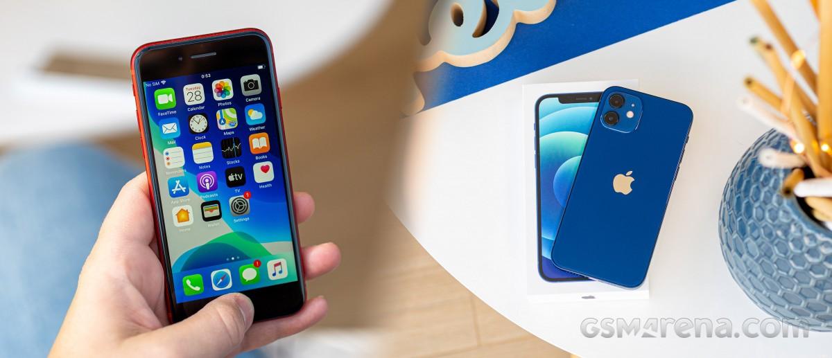 iPhone 8 to iPhone 12 mini