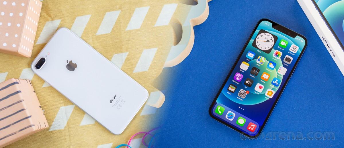 iPhone 8 Plus to iPhone 12