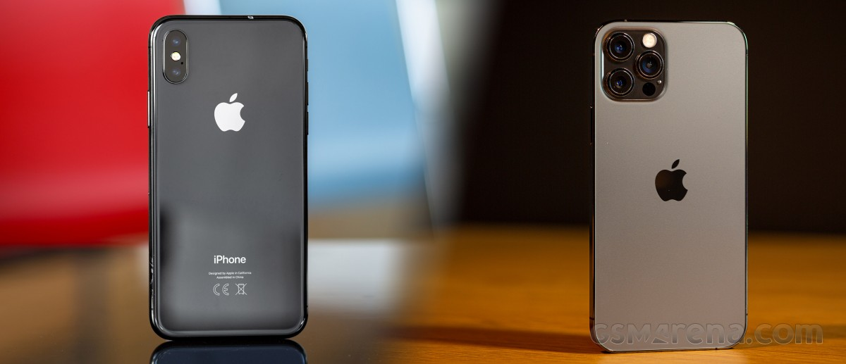 iPhone X to iPhone 12 Pro