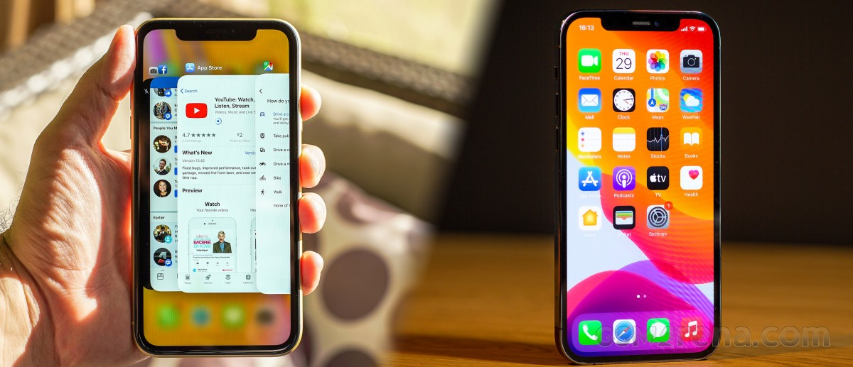 iPhone XR to iPhone 12 Pro Max