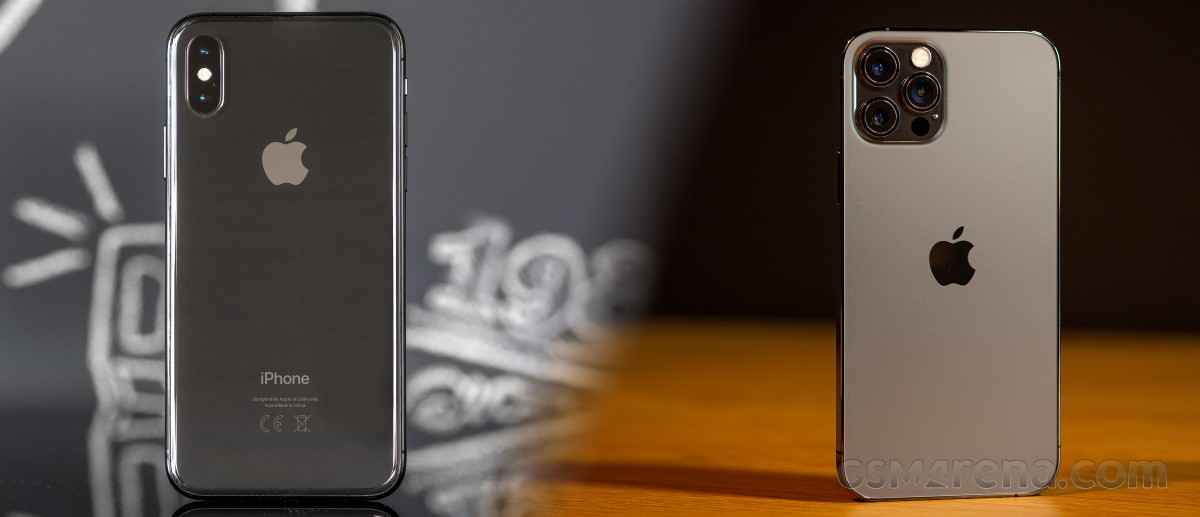 iPhone XS to iPhone 12 Pro