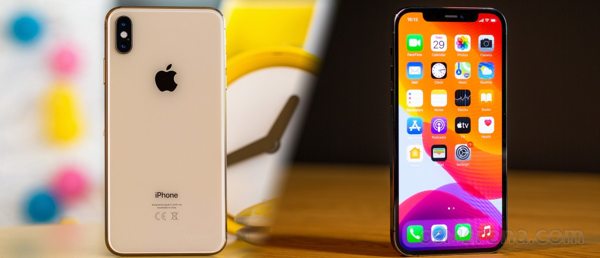 iPhone XS Max to iPhone 12 Pro Max