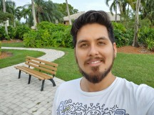 Selfie samples - f/1.9, ISO 50, 1/177s - LG V60 Thinq 5g review