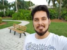 Selfie Portrait - f/1.9, ISO 50, 1/220s - LG V60 Thinq 5g review