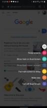 Dual Screen menu - LG V60 Thinq 5g review