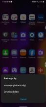 Drawer sorting - LG V60 Thinq 5g review