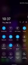 Quick settings - LG V60 Thinq 5g review