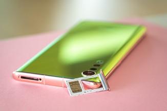Hybrid second SIM slot - LG Velvet review