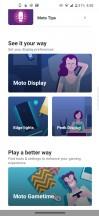 Moto app - Motorola Edge review