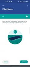 Moto Display: Edge Lights - Motorola Edge review